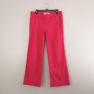 J. Crew Favorite fit Coral pants size 8 short